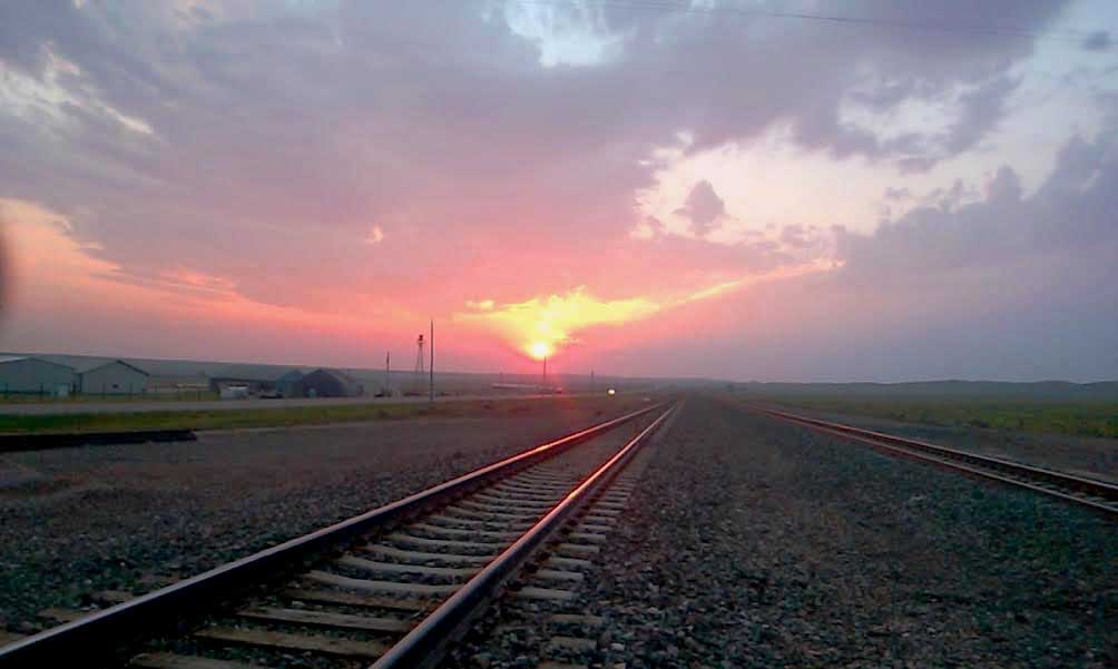 Red Rails in the Sunset for TT